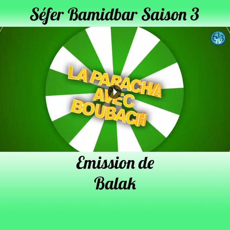 Emission Balak Saison 3