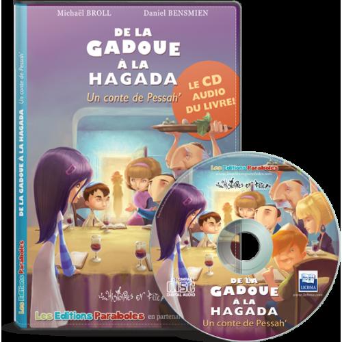 CD audio de la Gadoue à la Hagada