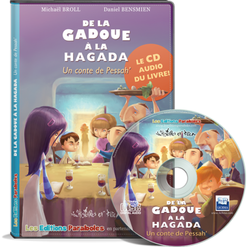 CD audio de la Gadoue à la Hagada