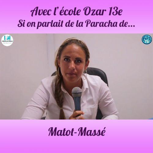 L'ECOLE D'OZAR ET Matot-Massey