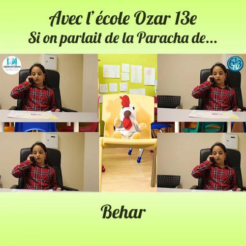 L'ECOLE D'OZAR ET Behar