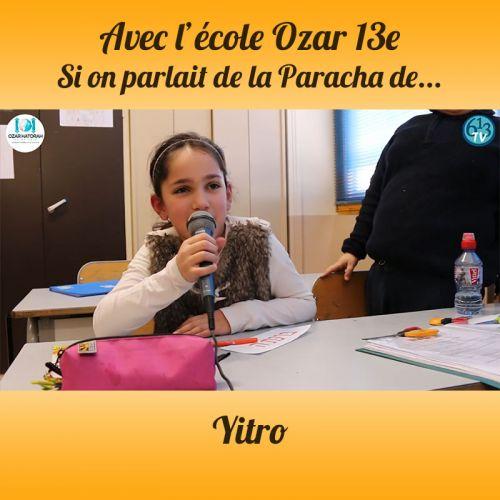 L'ECOLE D'OZAR ET Yitro