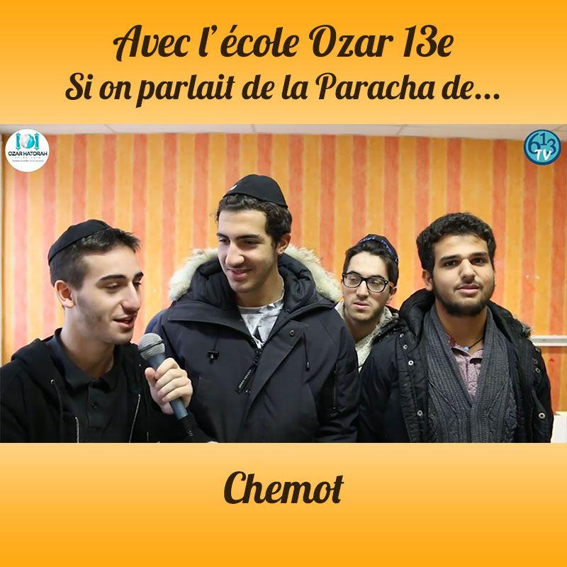 L'ECOLE D'OZAR ET Chemot