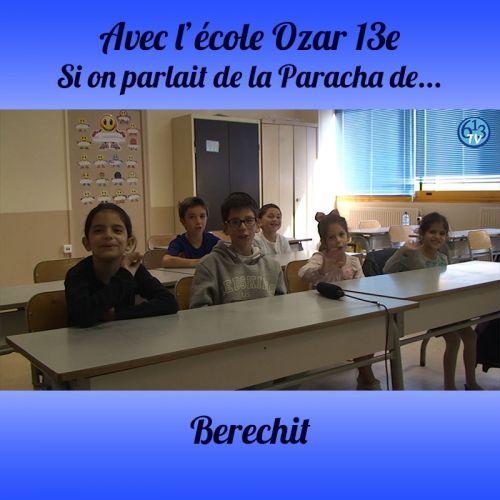 L'ECOLE D'OZAR ET Berechit