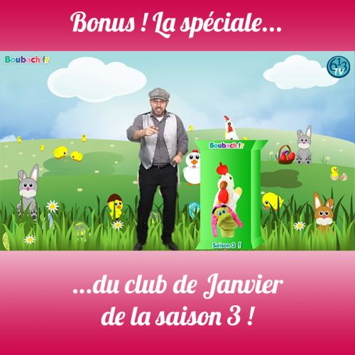 BONUS S3 Club numéro 1