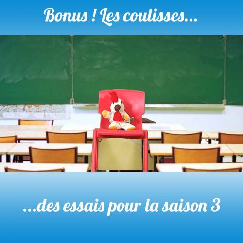 BONUS S3 Les premiers essais