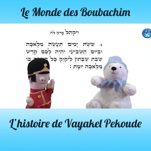 L'HISTOIRE DE Vayakel Pekoude