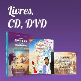 Livres, CD, DVD